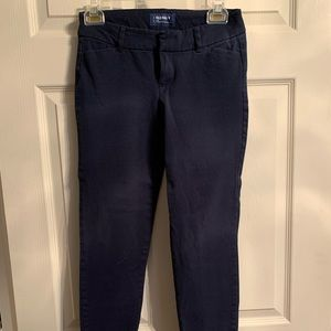 Navy blue old navy pixie style pants